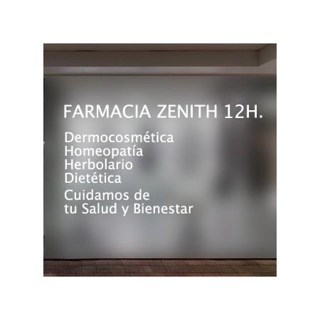 vinilos decorativos Farmacia 12H