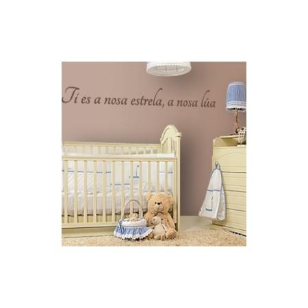 vinilos decorativos Frase Galego
