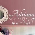 Vinilos Nombre Adriana