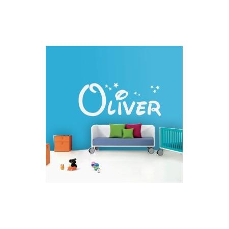 Vinilos decorativos Nombre Oliver