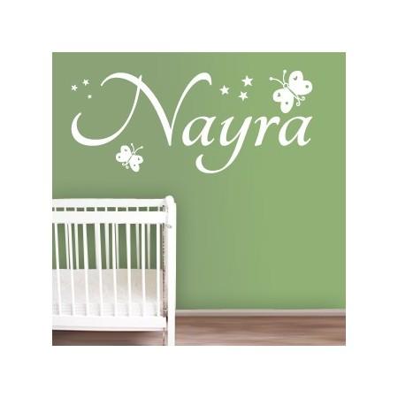 Vinilos decorativos Nombre Nayra