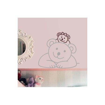 vinilos decorativos infantiles Osita