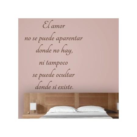 vinilos Frase Amor