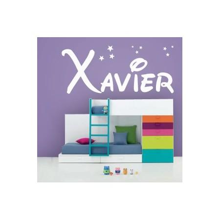 Vinilos decorativos Nombre Xavier