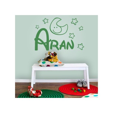 Vinilos decorativos Nombre Aran