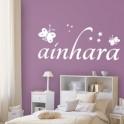 Vinilos Nombre Ainhara