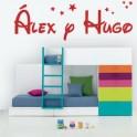 Álex y Hugo