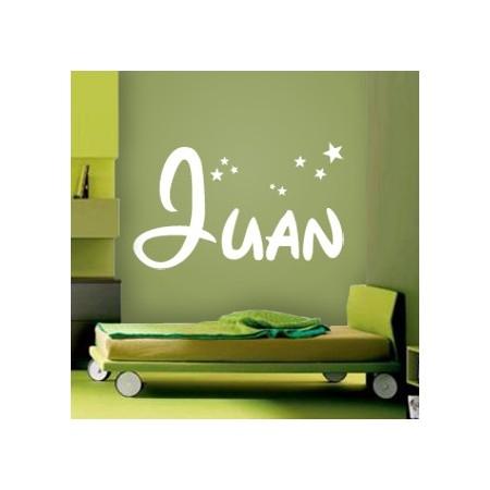 vinilos adhesivos con nombre Juan