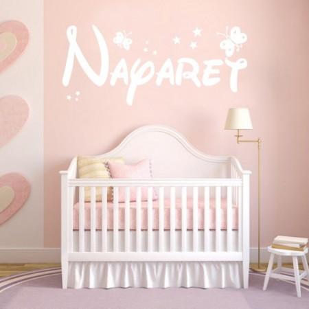 vinilos con nombre Nayaret