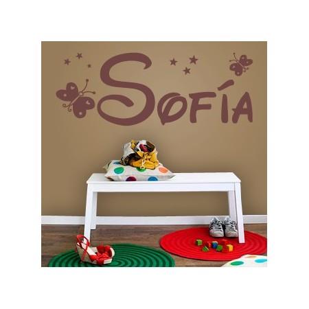 vinilos con nombre Sofía