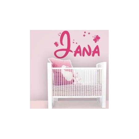 vinilos con nombre Jana