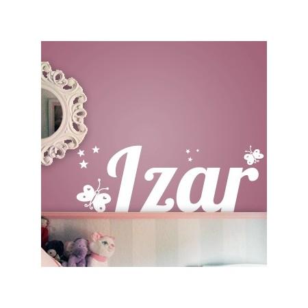 vinilo de pared con nombre Izar