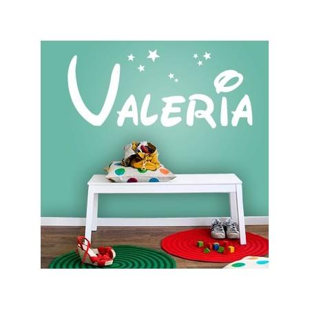 vinilos con nombre Valeria