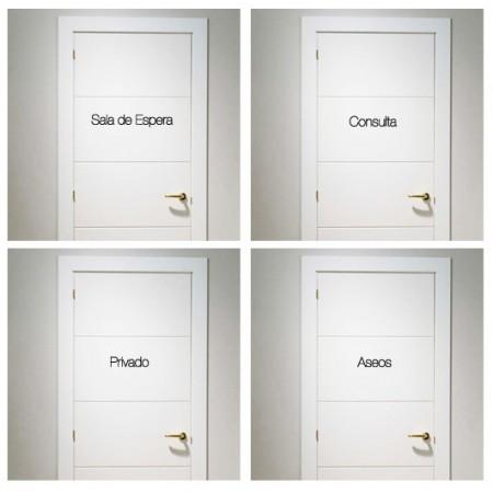 vinilos personalizados puertas Consulta