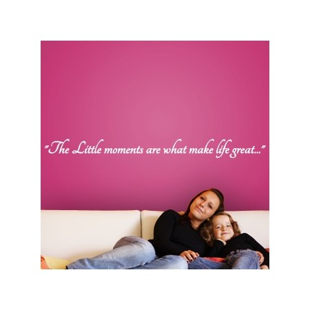 pegatinas paredes texto Little Moments