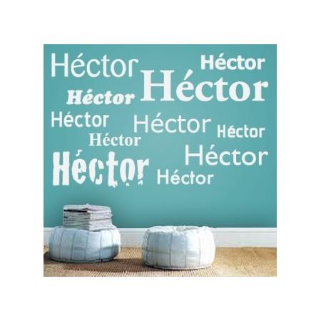 vinilos con nombres Héctor