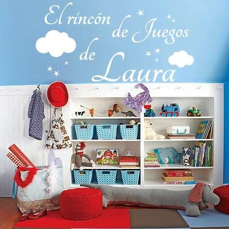 vinilos decorativos El Rincón de Juegos de Laura