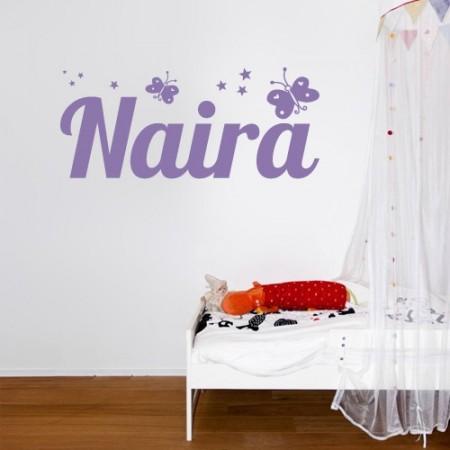 vinilos con nombre Naira