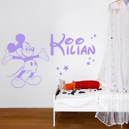 pegatinas paredes nombres Kilian