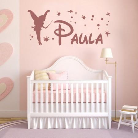 vinilos nombres Hada Paula