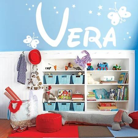 vinilos nombres Vera