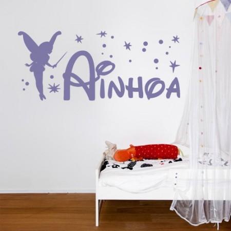 vinilos con nombre Ainhoa