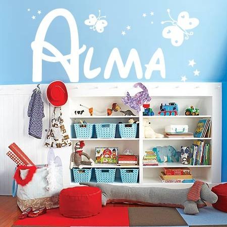vinilos nombres Alma