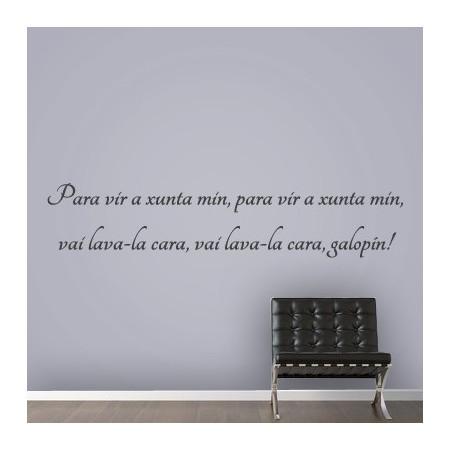 vinilos con Frase en Galego