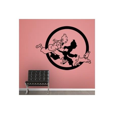 vinilos comic Tintín