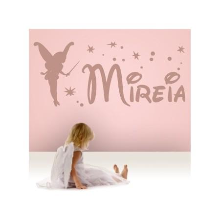 vinilos nombres Hada Mireia
