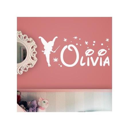 vinilos nombres Hada Olivia
