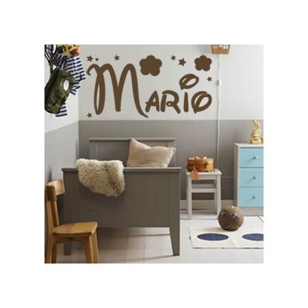 vinilos nombre Mario