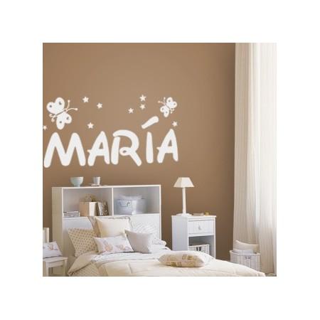 vinilos con nombre María