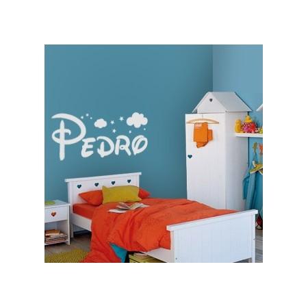 vinilos infantiles nombre Pedro