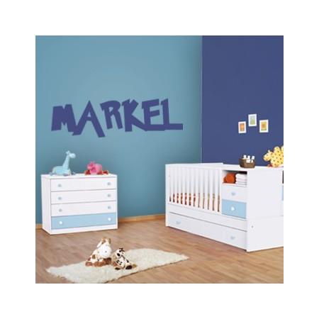 vinilo con nombre Markel