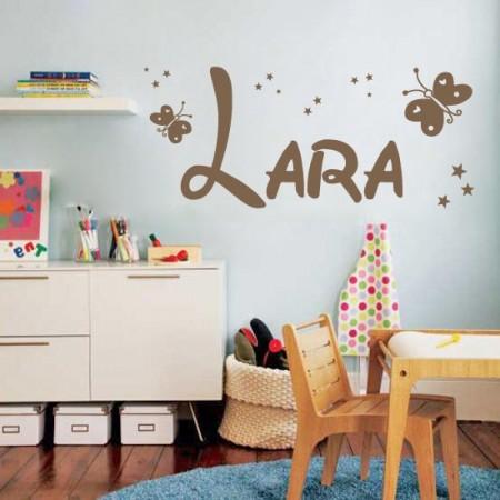 vinilos con nombre Lara