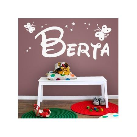 vinilos decorativos nombre Berta