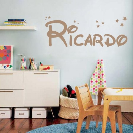 pegatinas de paredes nombre Ricardo