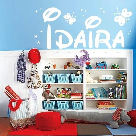 vinilos con nombre Idaira