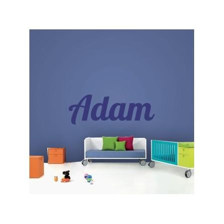 vinilos decorativos con nombre Adam