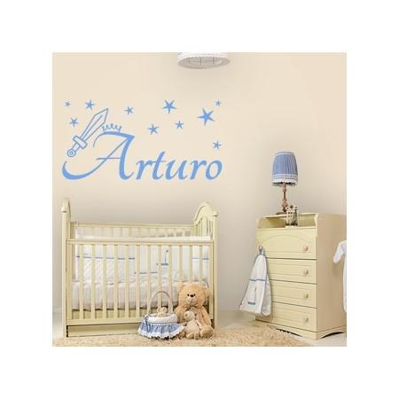 vinilos decorativos nombres Arturo