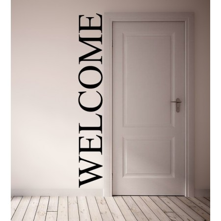 Vinilos decorativos Welcome