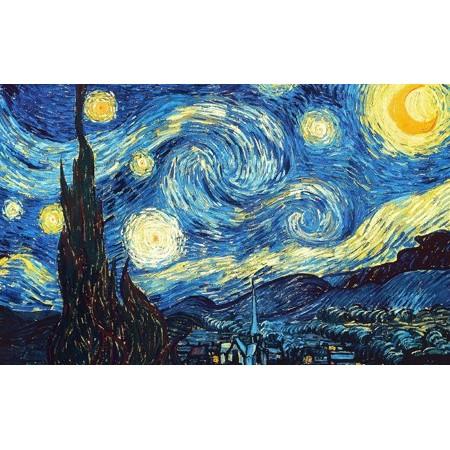 Vinilo La Noche Estrellada Van Gogh