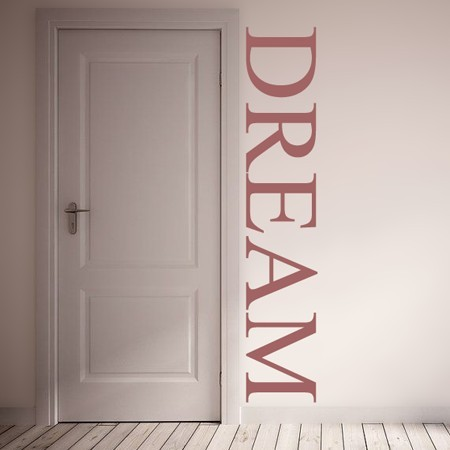 Vinilos decorativos palabra Dream