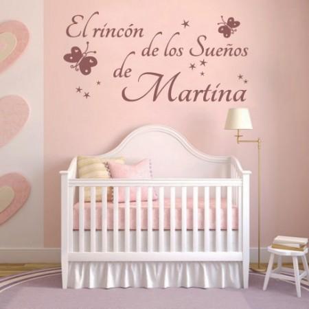 vinilos infantiles El Rincón de los Sueños de Martina