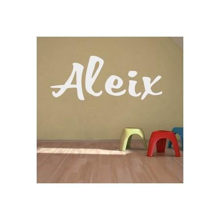 Vinilos decorativos Nombre Aleix