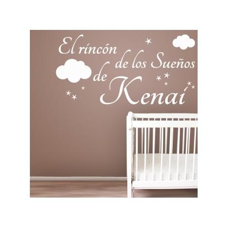 pegatinas de paredes El Rincón de los Sueños de Kenai