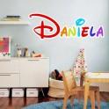 Pegatinas Nombre Daniela