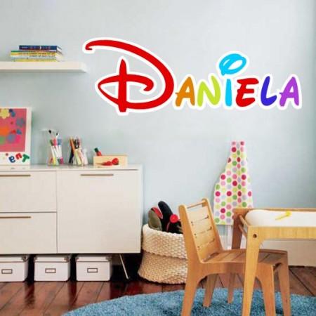 Pegatinas pared Nombre Daniela