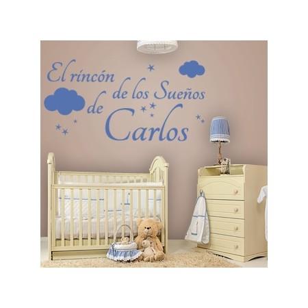 vinilos decorativos El Rincón de los Sueños de Carlos